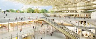 Les Halles redevelopment project
